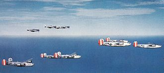 USAAF unit identification aircraft markings - B-24s of the 458th Bomb Group, 96th Combat Bomb Wing, in 1944-45 color scheme