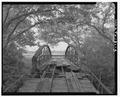 BARREL VIEW FROM S. - Kelley Crossing Bridge, Spanning Plum Creek at County Route 186, Lockhart, Caldwell County, TX HAER TX,28-LOCK.V,2-3.tif