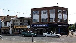 BBC Radio Humberside - BBC Radio Humberside's Grimsby studio.