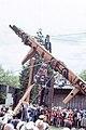 BC Museum Haida Pole Raising June 9, 1984007-LR (34640579703).jpg
