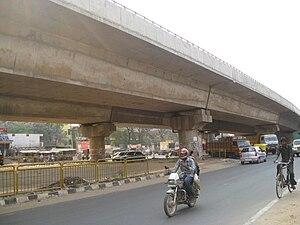 Bommasandra - Hebbagodi-Bommasandra flyover on Hosur Road.