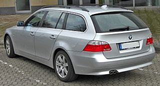 BMW e61 touring 5 series