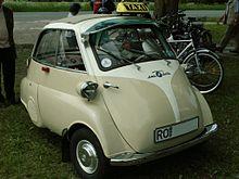 Una BMW Isetta