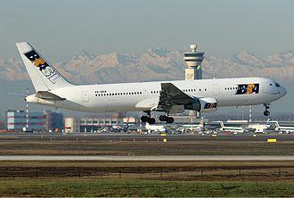 BRA Transportes Aéreos - A BRA Boeing 767-300 at Milan-Malpensa in 2006