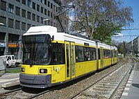 BVG line M10 on Warshauer Straße (cropped).JPG
