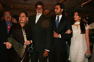 Bachchan family Indian family, headed by Amitabh Bachchan