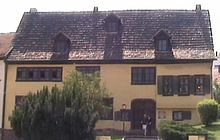 photo : maison natale de Bach à Eisenach