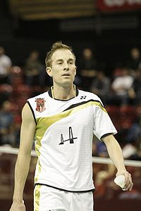 Peter Gade 2010 bei den Swiss Open in Basel