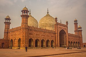 Badshahi Masjid - Side View