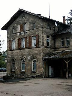 Goldshöfe station