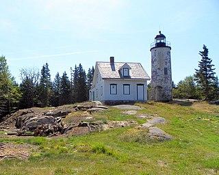 Baker Island Light lighthouse in Maine, United States