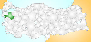 Balıkesir Turkey Provinces locator.jpg