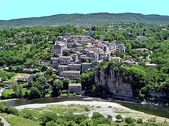 Ardèche - Balazuc (Latin: Baladunum) was founded circa 3000 B.C.