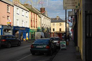 Ballinrobe Town in Ireland