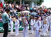 Banda Municipal de San Carlos en celebración del Día de la Cultura (1286732640) 2010-10-10 Quesada, Alajuela, Costa Rica.jpg