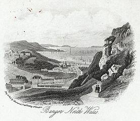 Bangor, north Wales