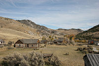 Image of Montana ghost town
