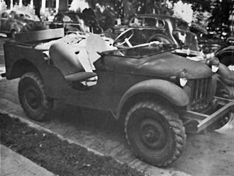 "Willys MB - The Bantam No. 1 ""Blitz Buggy"""