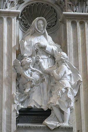 Madeleine Sophie Barat - Statue of Sophie Barat at St. Peter's Basilica