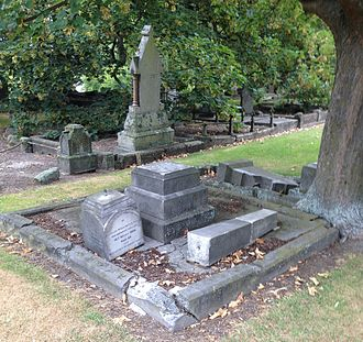 Edward Bishop (mayor) - The Bishop family grave in the Barbadoes Street Cemetery was damaged in the 2011 Christchurch earthquake