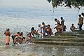 Bathing - Ram Chandra Goenka Zenana Bathing Ghat - Kolkata 2012-10-15 0788.JPG