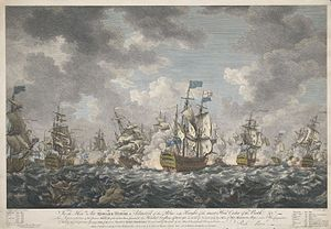 Planned French invasion of Britain (1759) - Image: Battle of Quiberon Bay IMG 4821