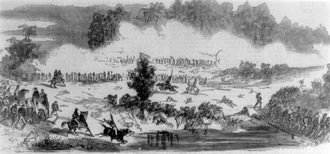 First Battle of Rappahannock Station - Image: Battle of Rappahannock Station I