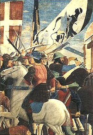Invasion of Corsica (1553) - Battle of the Corsicans with the Genoese.