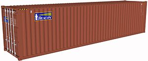 Beacon 40 foot container