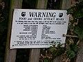 Bear Warning - geograph.org.uk - 666548.jpg