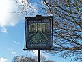 Beeley Wood Pub Sign, Middlewood Road, North, Middlewood, Sheffield - geograph.org.uk - 1732191.jpg