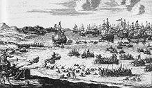 Siège de Rügen par l'armée prussienne, en 1678