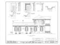 Belmont, U.S. Highway 43, Spring Valley, Colbert County, AL HABS ALA,17-SPRIVA.V,1- (sheet 6 of 13).png