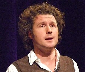 English: Ben Goldacre speaking at TAM London O...