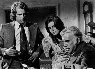 Ben Murphy - Ben Murphy, Patricia Stich and Lorne Greene in Griff.
