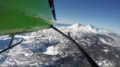 Bend, Oregon Cascade Range by Helicopter.png