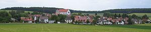 Bergen, Neuburg - Panoramic view