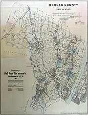 Bergen County, 1909