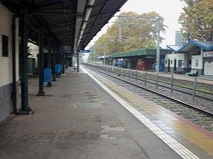 Bernal, Argentina - Bernal railway station