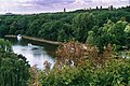Bernburg (Saale), view from the castle to the Saale river.jpg
