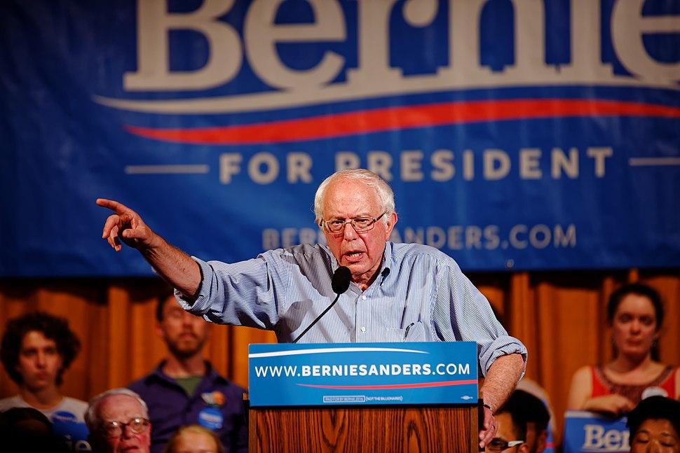 Bernie Sanders in Littleton, NH, on August 24, 2015 (20897434781)