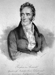 Wilhelm Ludwig Leopold Freiherr von Berstett, Lithographie von Friedrich Lieder, ca. 1830 (Quelle: Wikimedia)
