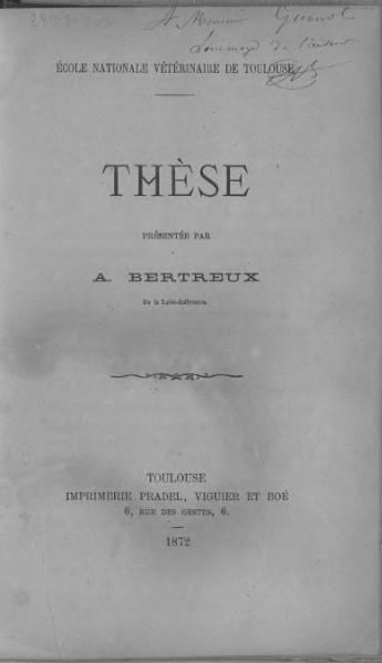 File:Bertreux - De l'origine de la peste bovine.djvu
