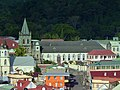 Bethesda Methodist Church and Our Lady of Fair Haven Cathedral - seen from the Cruise Ship - panoramio.jpg