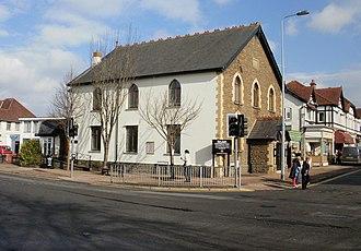 Rhiwbina - Beulah United Reformed Church, Rhiwbina village