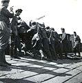Bevagonirozás a magyar csapatok bevonulása idején. Fortepan 77011.jpg