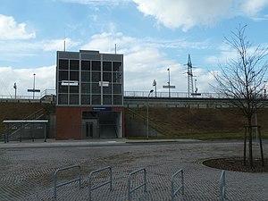 Waßmannsdorf station - Image: Bf Waßmannsdorf O