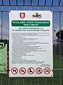 Biłgoraj - regulamin kortu tenisowego Biały Orlik-1.JPG