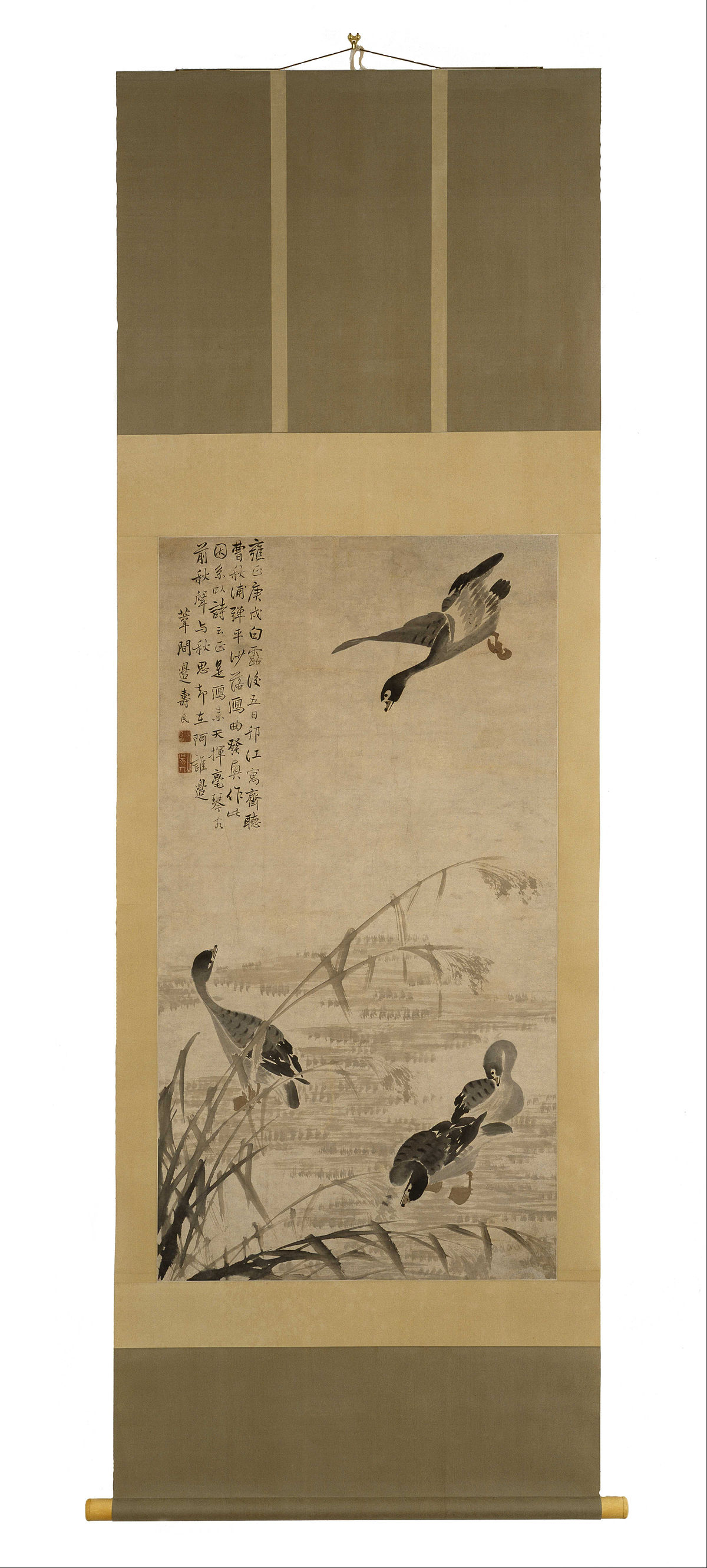 Geese In Chinese Poetry Wikipedia