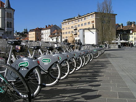 BicikeLJ, a Ljubljana-based self-service bicycle network, is free of charge for the first hour.